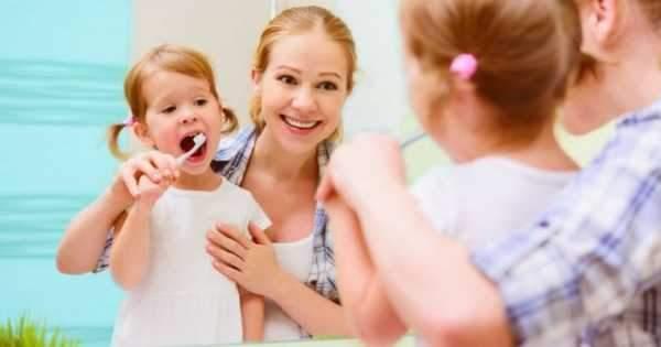 Cuando se debe empezar a lavar los dientes un bebe