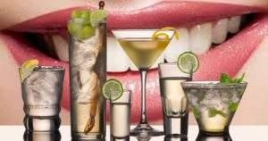 Como afecta el alcohol nuestros dientes
