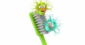 Cómo reducir los riesgos de infecciones en los cepillos de dientes