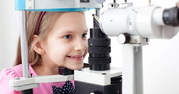 Hipertelorismo ocular en niños